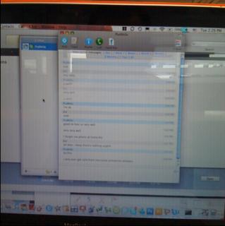 iPhone blogging